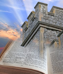 Bible is a tower and stronghold